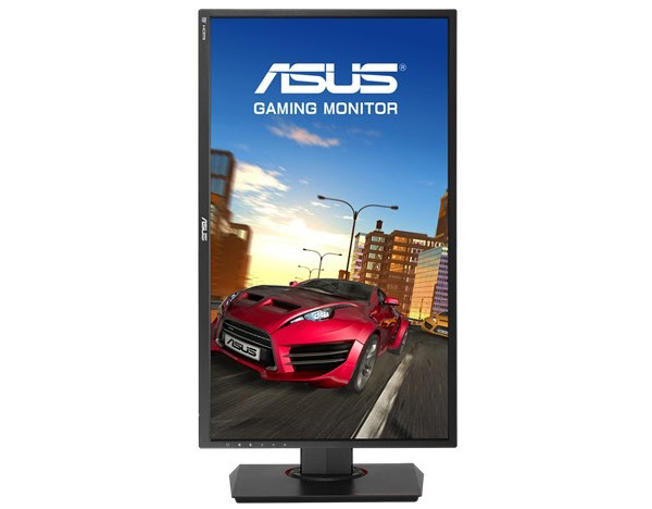 The panel itself can be swivelled to a vertical position. (Image Source: ASUS)