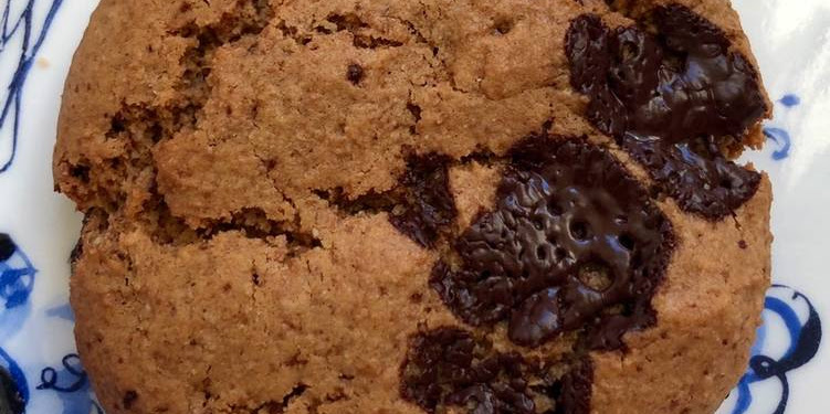 Recipe: Appetizing Chunky Chocolate and hazelnut cookies - can be vegan