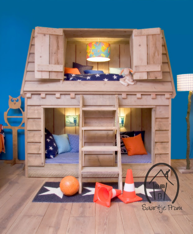 10 Fabulous Boys' House Beds 7