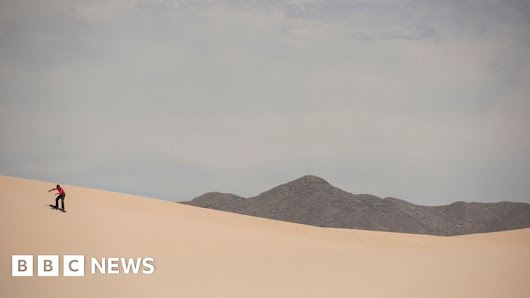 Samalayuca dunes: From no-go area to hot destination
