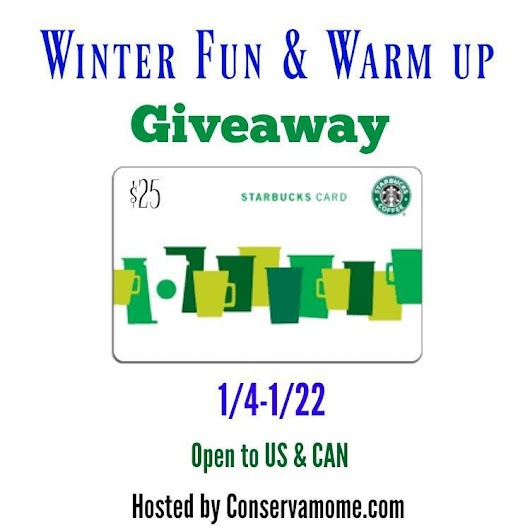 Warm Up With Starbucks: $25 Gift Card Giveaway | 1StopMom