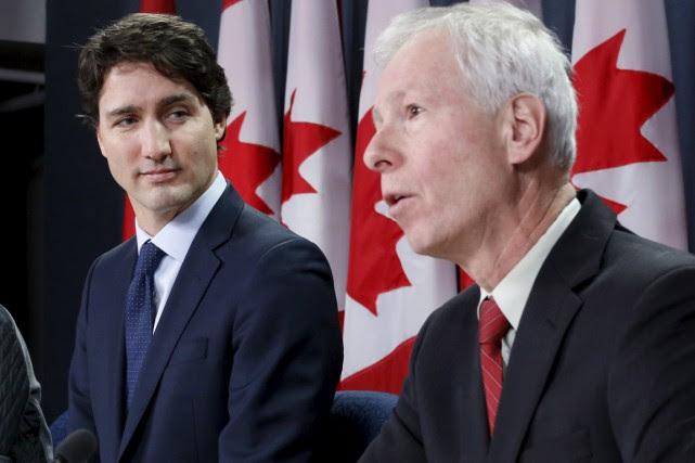 Le premier ministre canadien et le ministre des... (Photo Reuters)