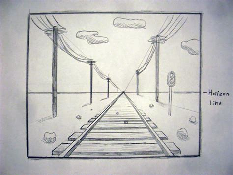 draw  perspective  point drawing lessons