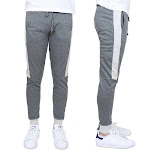 Men's Slim-Fit French Terry Jogger With Contrast S