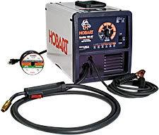 New hobart handler 125 ez, flux cored wire feed welder,