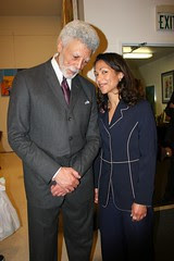 Aimee Allison And Ron Dellums