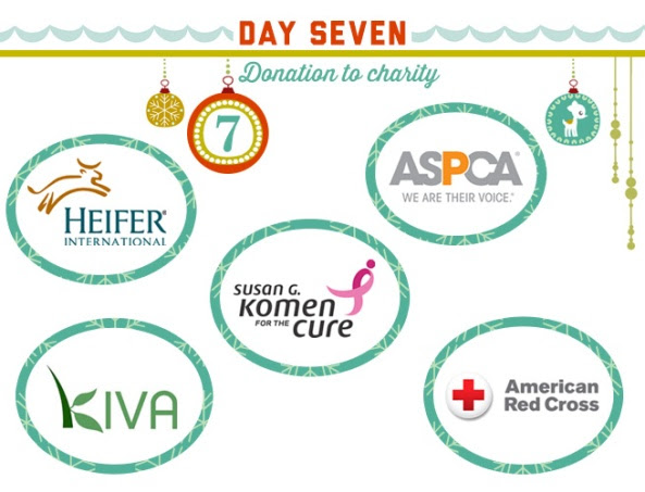 12 DAYS OF GIVEAWAYS: Day 7- Win a Donation for your Favorite ...