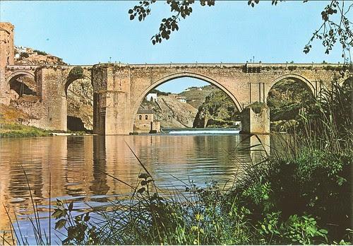 Puente de San Martín en los años 70