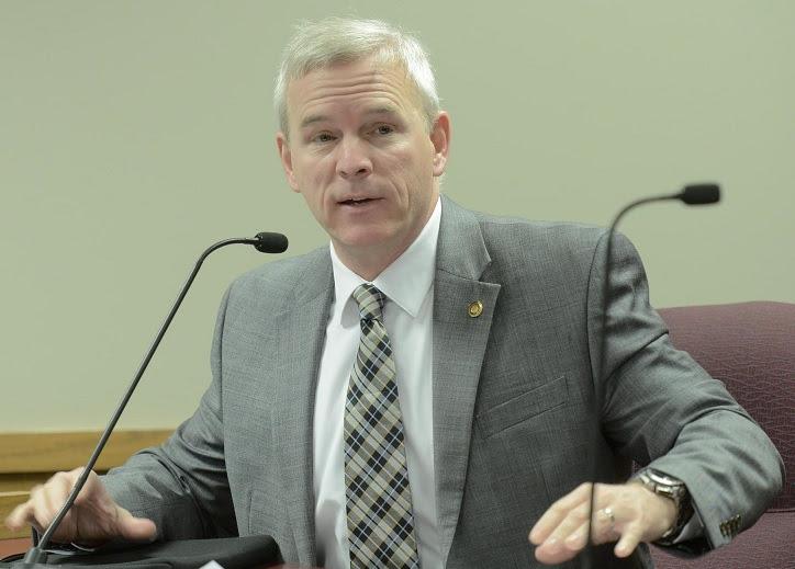 Representative Delus Johnson (photo; Tim Bommel, Missouri House Communications)