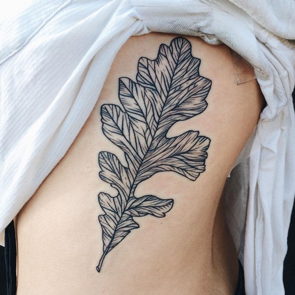 Tatuagens inspiradas na natureza combinam gravuras de estilo vintage de fauna e flora 07