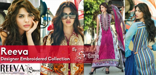 Womens-Girl-Dress-Reeva-Designer-Embroidered-Lawn-Collection-2013-By-Shariq-Textile-