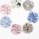 Costbuys Lilysilk Head-Rope Scrunchies Hair-100 Pure-Silk Rubber-Band-Accessories 7-Pack Charmeuse Womens Hair Affliction