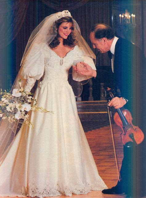 June July 1982 Brides Eve Of Milady gown I believe