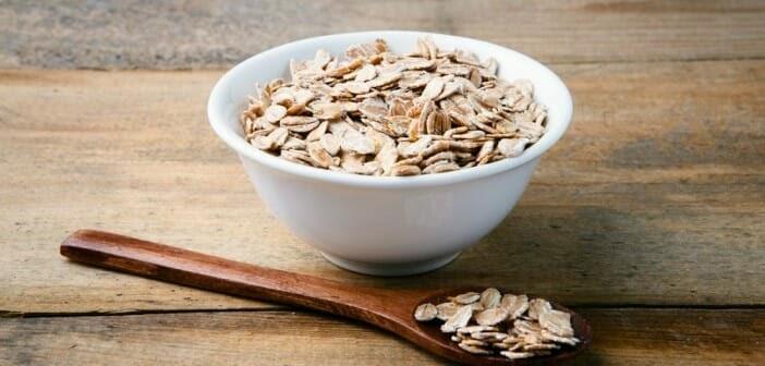 Calcul perte de poids deshydratation: Les flocons d'avoine