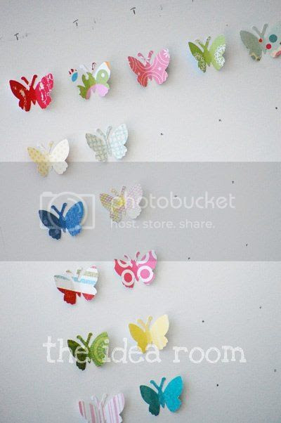 kolaj-tablo-kelebek-kagit