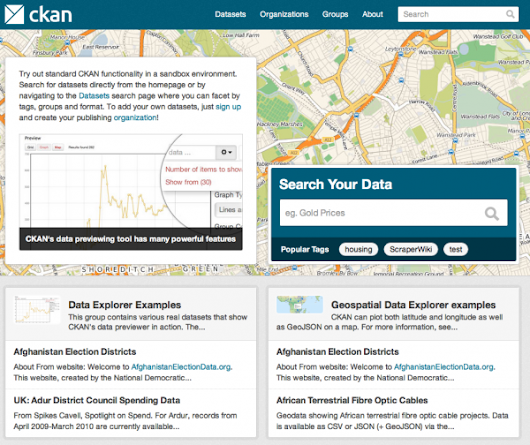 CKAN API: Open Data In The Hands of The Masses