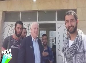 "Sen. McCain to Al Qaeda: ""Give me your post office box in Yemen for your Social Security pensions""."
