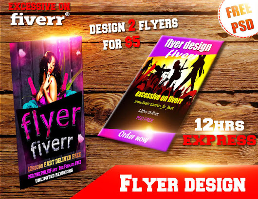 flyers1st : I will design professional flyer, poster, brochure in 6hrs for $5 on www.fiverr.com
