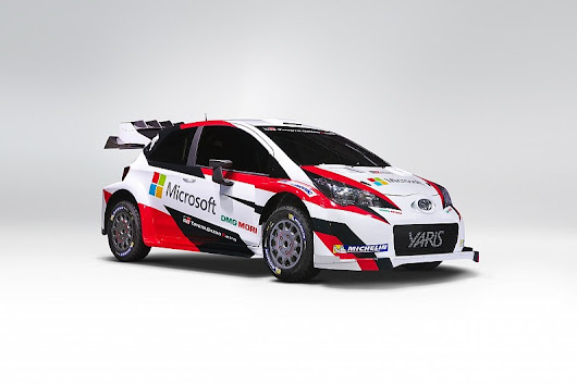 Toyota reveals 2017 World Rally Car livery and Microsoft deal