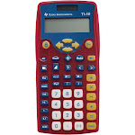 Texas Instruments TI-10 Elementary Calculator