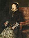 พระราชินีนาถแมรีที่ 1 วาดในปี พ.ศ. 2097