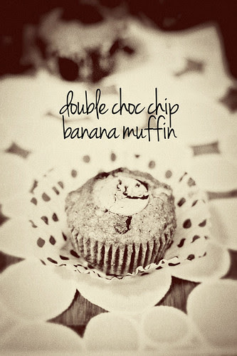 Double Choc Chip Nana Muffins 03