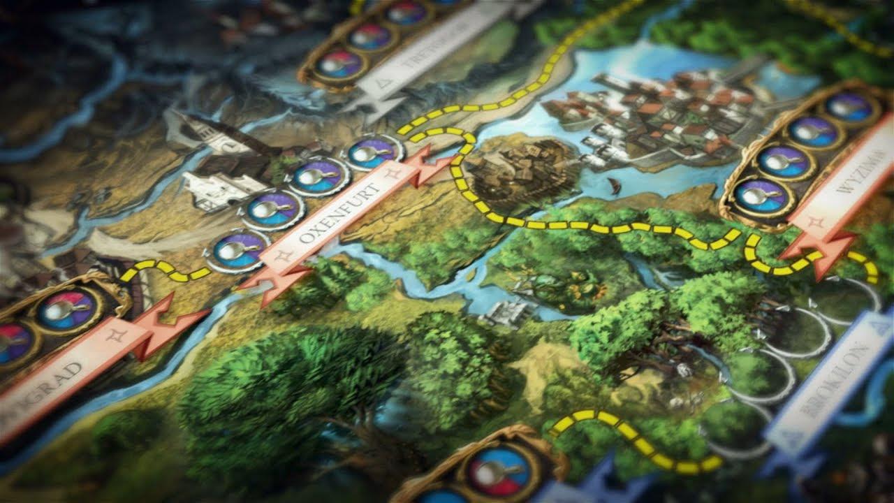 Ravenscourt juegos the witcher el juego de mesa for The witcher juego de mesa