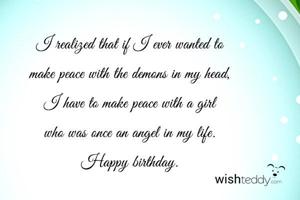 Birthday Wishes For Ex Boyfriend Page 5