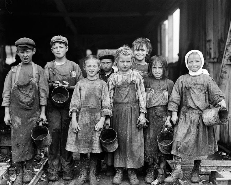 Ser criança no início do Século XX não era nada fácil 03