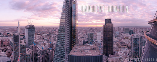 Lambent London - View From 30 St Mary Axe - Will Pearson - Panoramic Photographer London