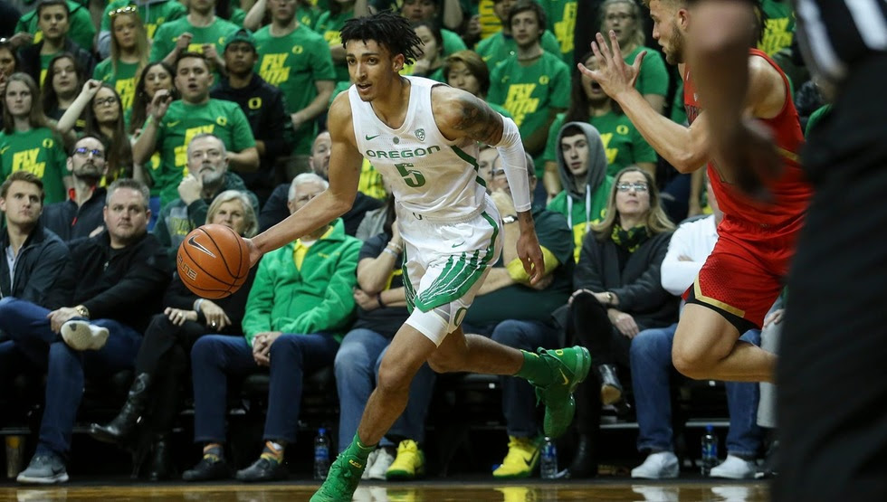Miles Norris (Photo courtesy of University of Oregon Athletics)