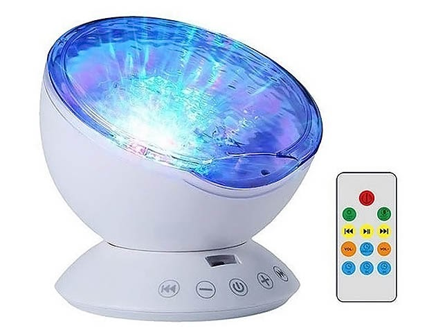 Ocean Wave Ceiling Projector for $32