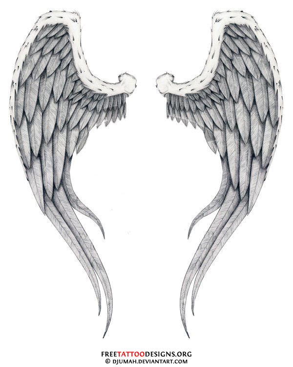 Angel Wings Tattoo Design Angel Wings Tattoo
