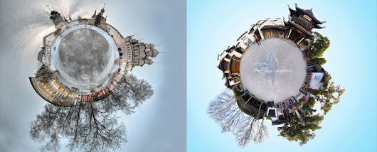 Polar Panorama Photography - Making your own little planets out of photos - DesignGrapher.Com | Design & Photography blog