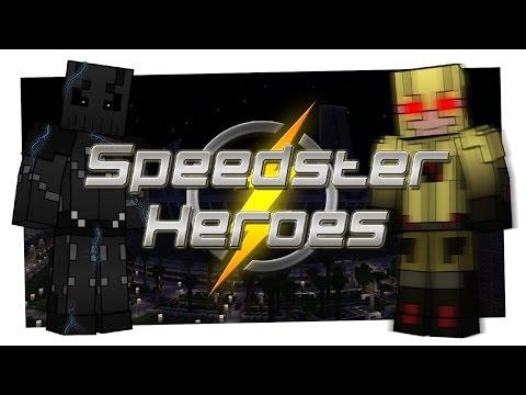 Minecraft MOD | Speedster Heroes