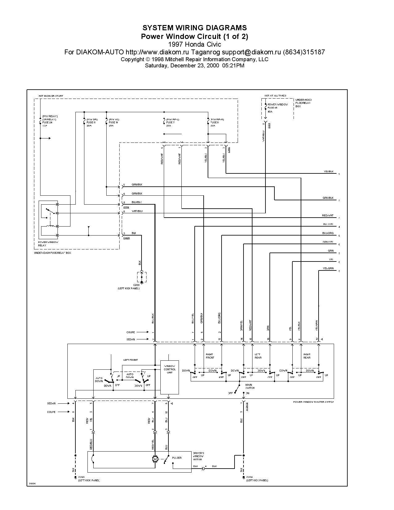 power window wiring diagram honda civic - home wiring diagram  home wiring diagram