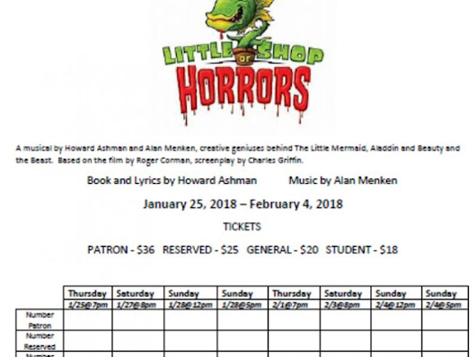 Ohev Shalom Players Will Perform Little Shop of Horrors Musical i