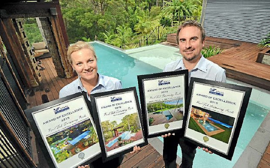 Fab firm scoops the pool at awards night
