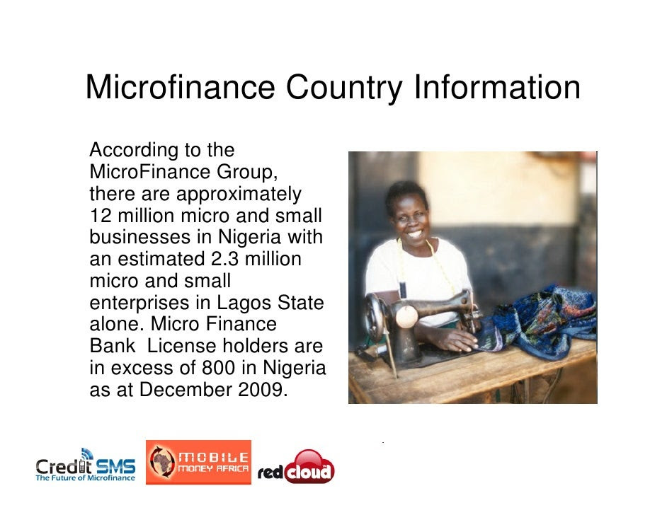 infromation about microfinance banks in Nigeria and their impact on the economoy