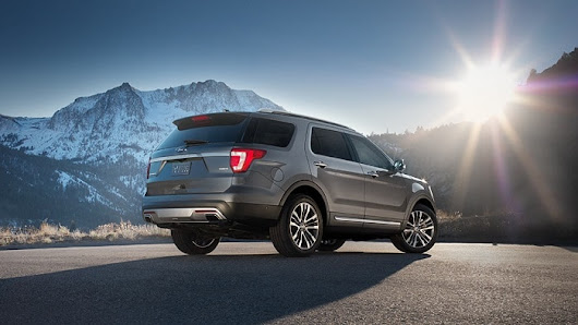 Hall Ford Lincoln Newport News | The 2017 Ford Explorer: An All-everything SUV
