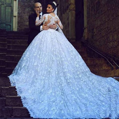 Aliexpress.com : Buy Elegant Full Lace Wedding Dress With