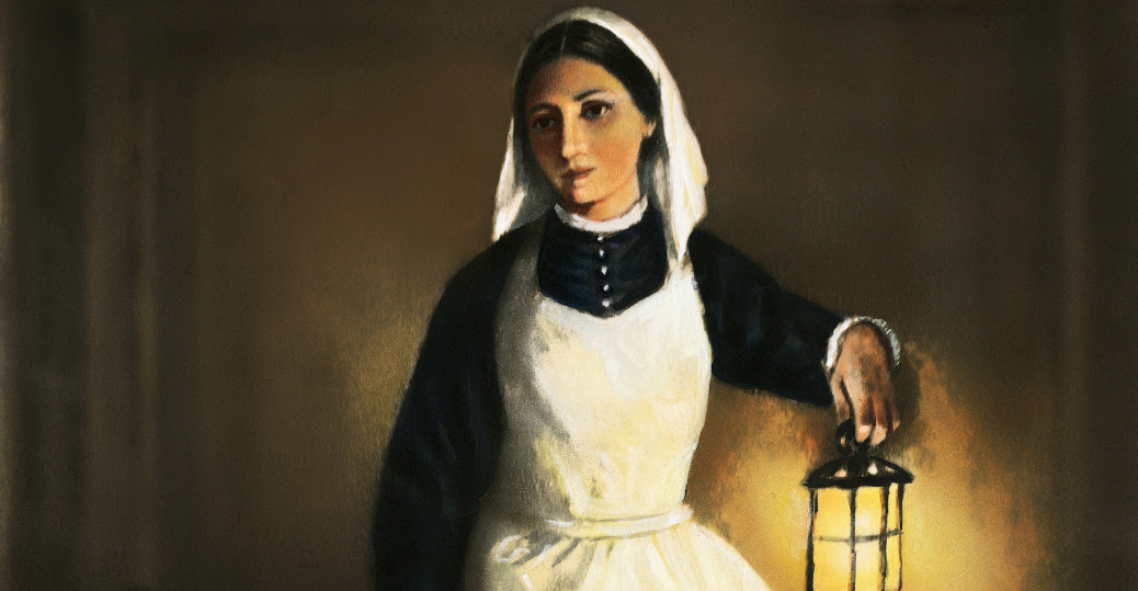 Florence Nightingale Ministering Angel The 8 Percent