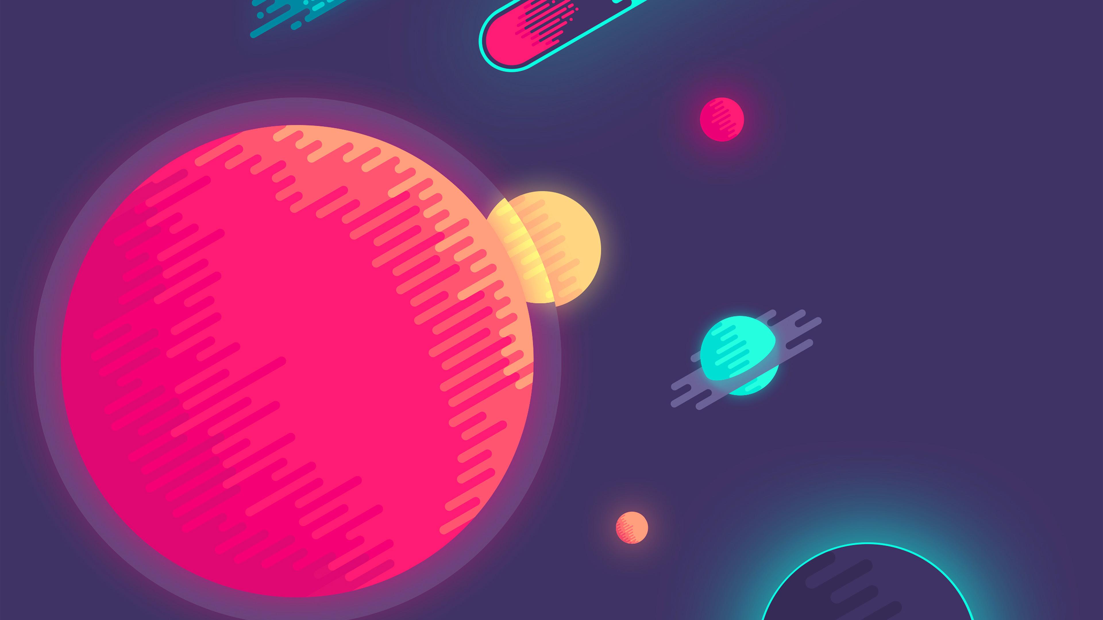 wallpaper for desktop, laptop   as10-space-minimal-art ...