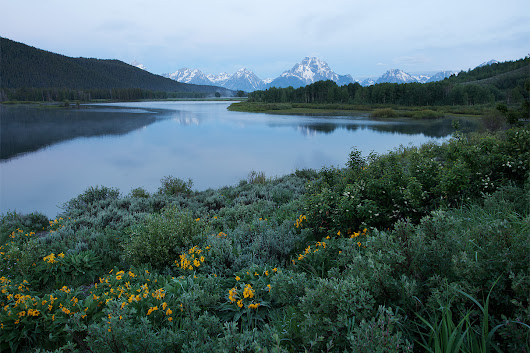 Before Dawn on Oxbow Bend – Grand Teton National Park, Wyoming