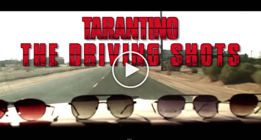 AMAZING Master Cut of Quentin Tarantino's Driving Shots