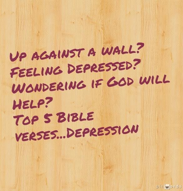 Top 5 Bible Verses-Depression - Everyday Servant