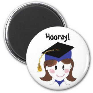 Graduation - Hooray! magnet