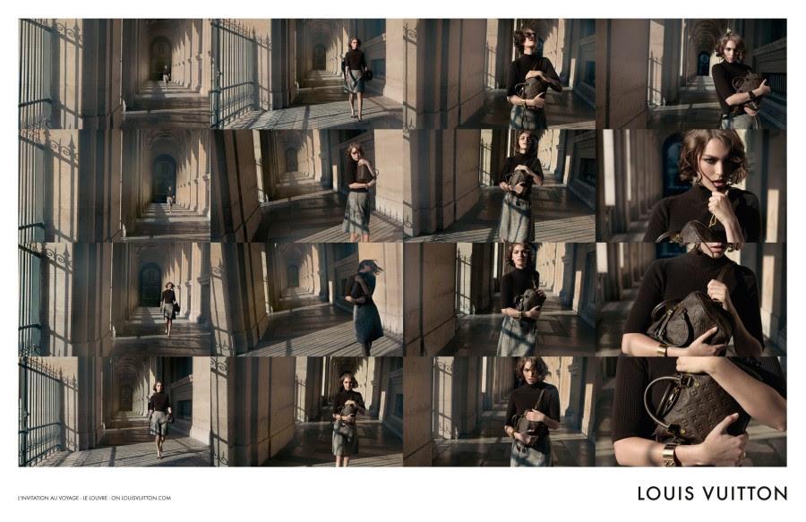 louis vuitton4 Arizona Muse Takes Flight for Louis Vuittons L'invitation au Voyage Campaign by Inez & Vinoodh