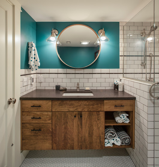New This Week: 4 Stylish Bathroom Vanity Areas