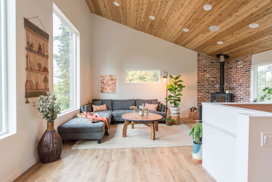 A Couple Built a Modern Alaskan Home Entirely from Scratch